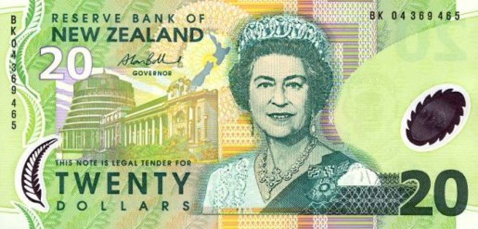 Резервный банк Новой Зеландии снизил ставку, и курс местного доллара упал