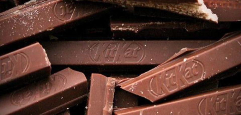 Британский суд отказал Nestle в регистрации формы плиток KitKat