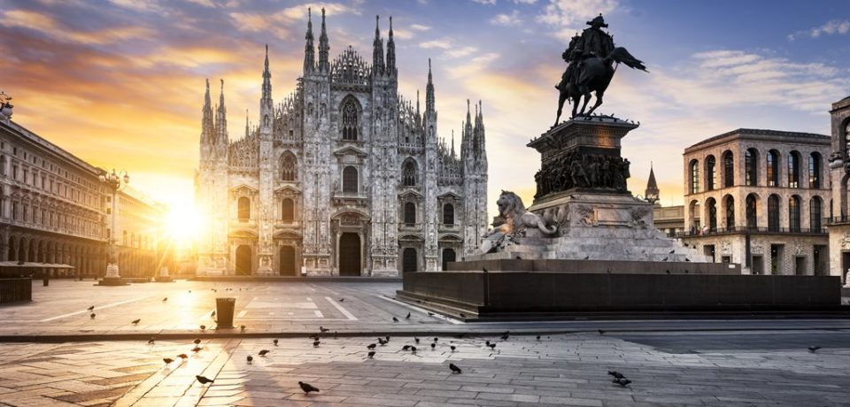 Милан — прелестный итальянский город